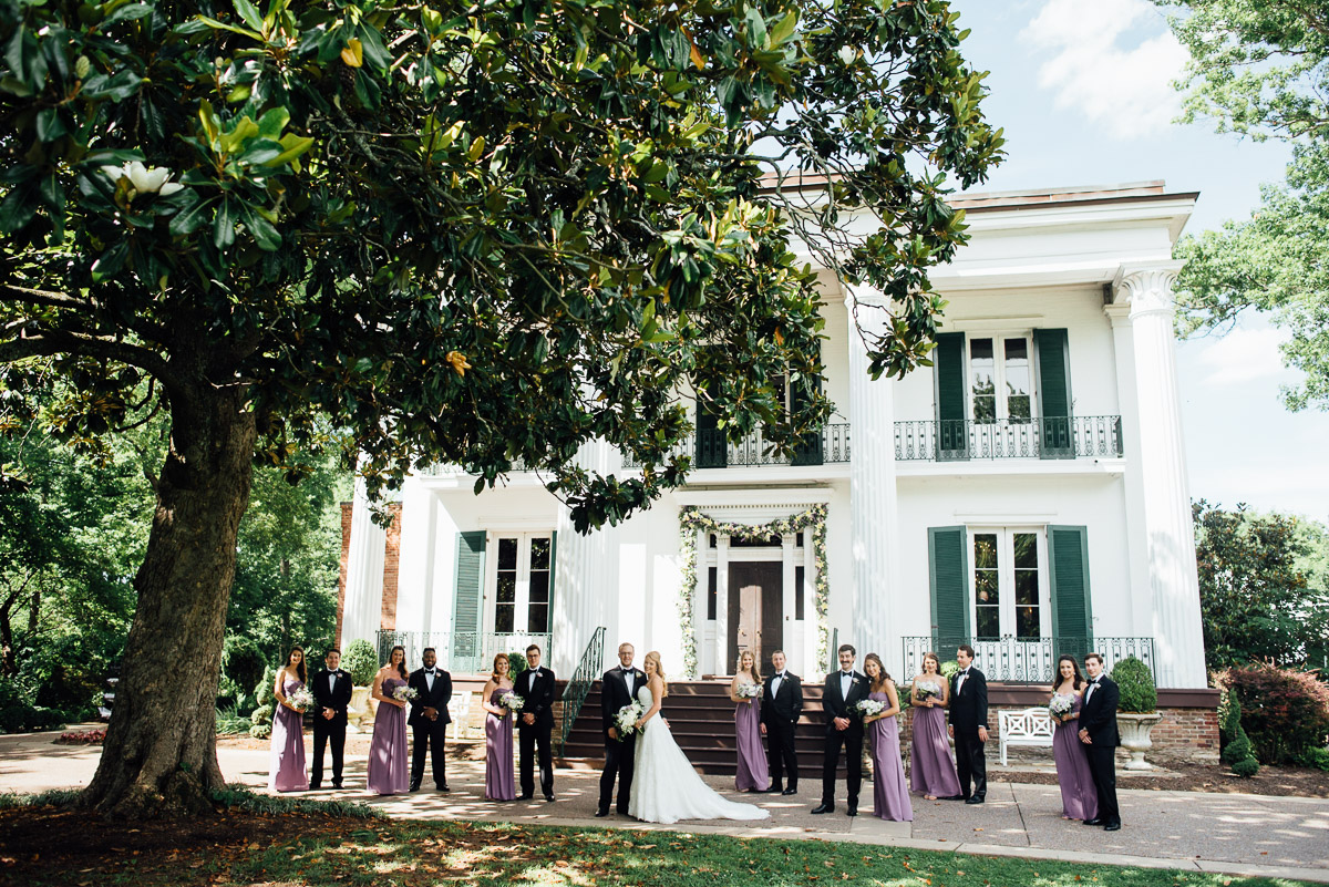 riverwood-mansion-bridal-party Riverwood Mansion Wedding | Ashley and Kirk | Nashville, TN