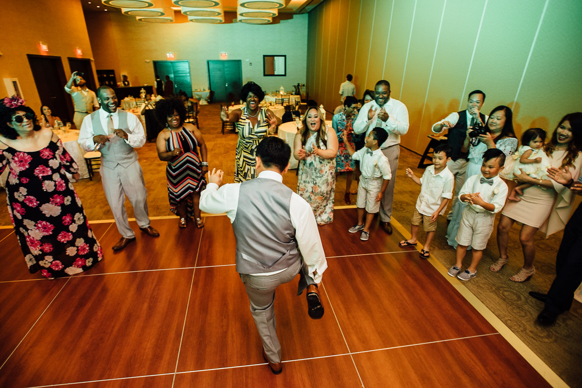 running-man Costa Rica Destination Wedding