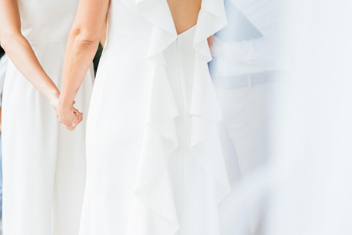same-sex-wedding-photographer Becky and Kelly | Intimate Backyard Wedding