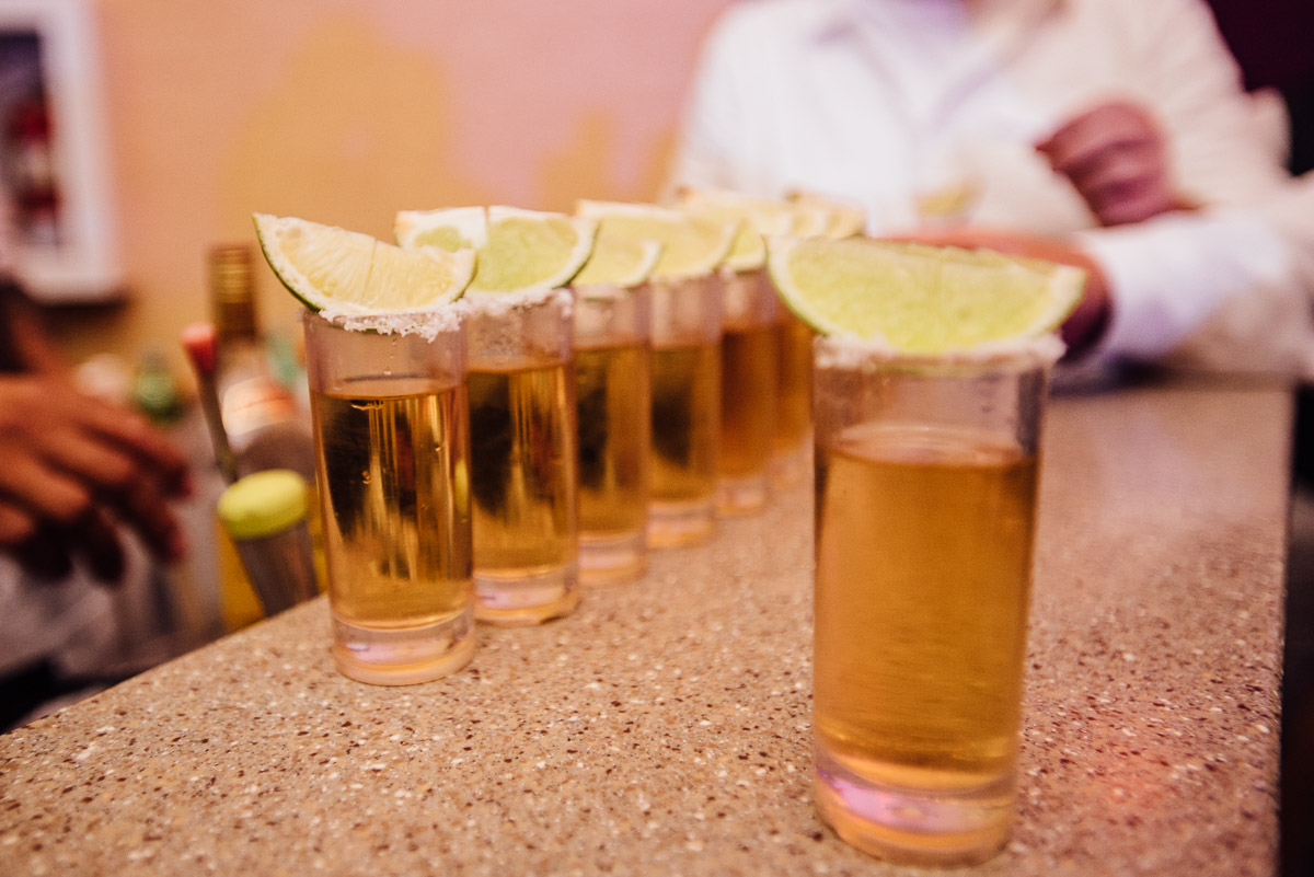 tequila-shots Costa Rica Destination Wedding