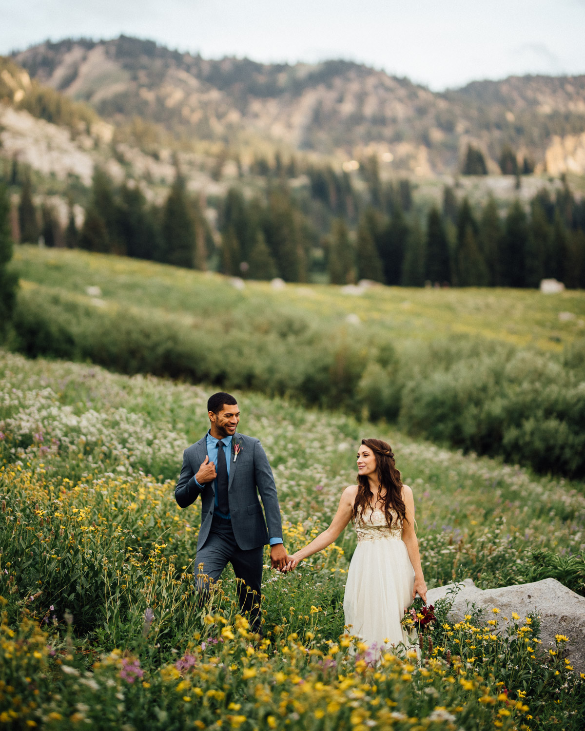 alta-wedding-shoot Salt Lake City | Mountain Wedding Inspiration