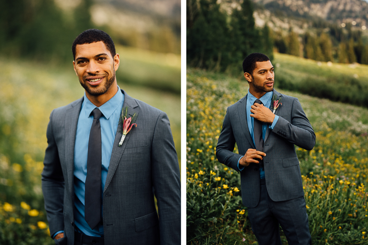 groom-details-utah Salt Lake City | Mountain Wedding Inspiration