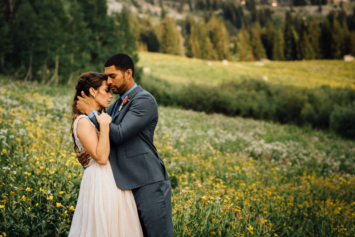intimate-bride-groom-photos Salt Lake City | Mountain Wedding Inspiration