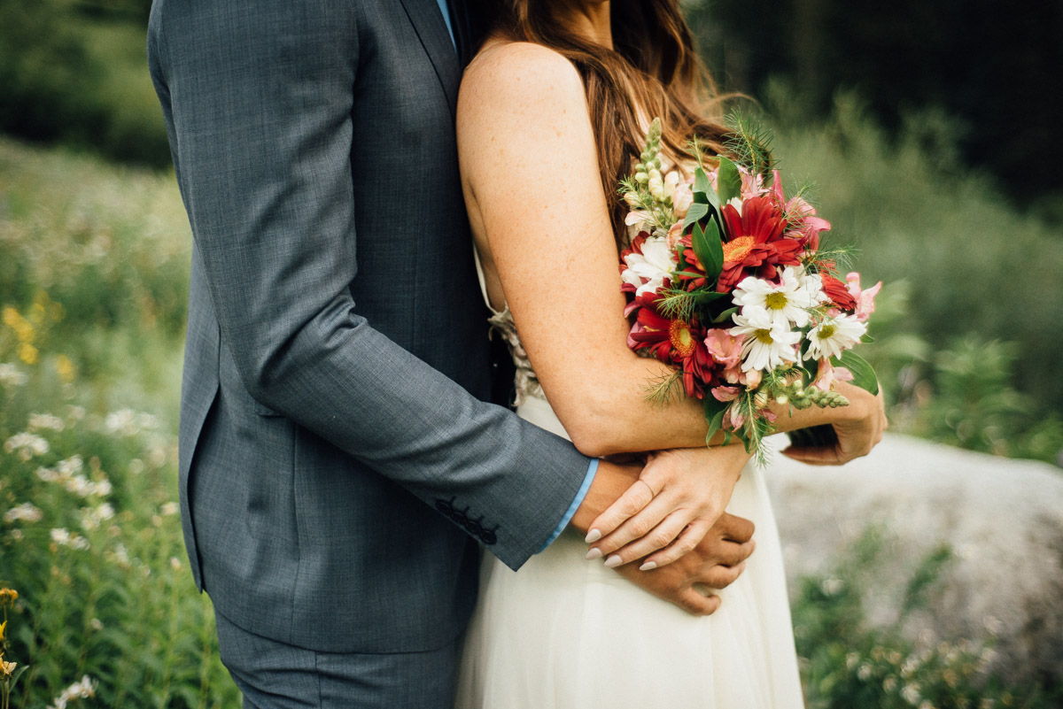 wedding-flowers Salt Lake City | Mountain Wedding Inspiration