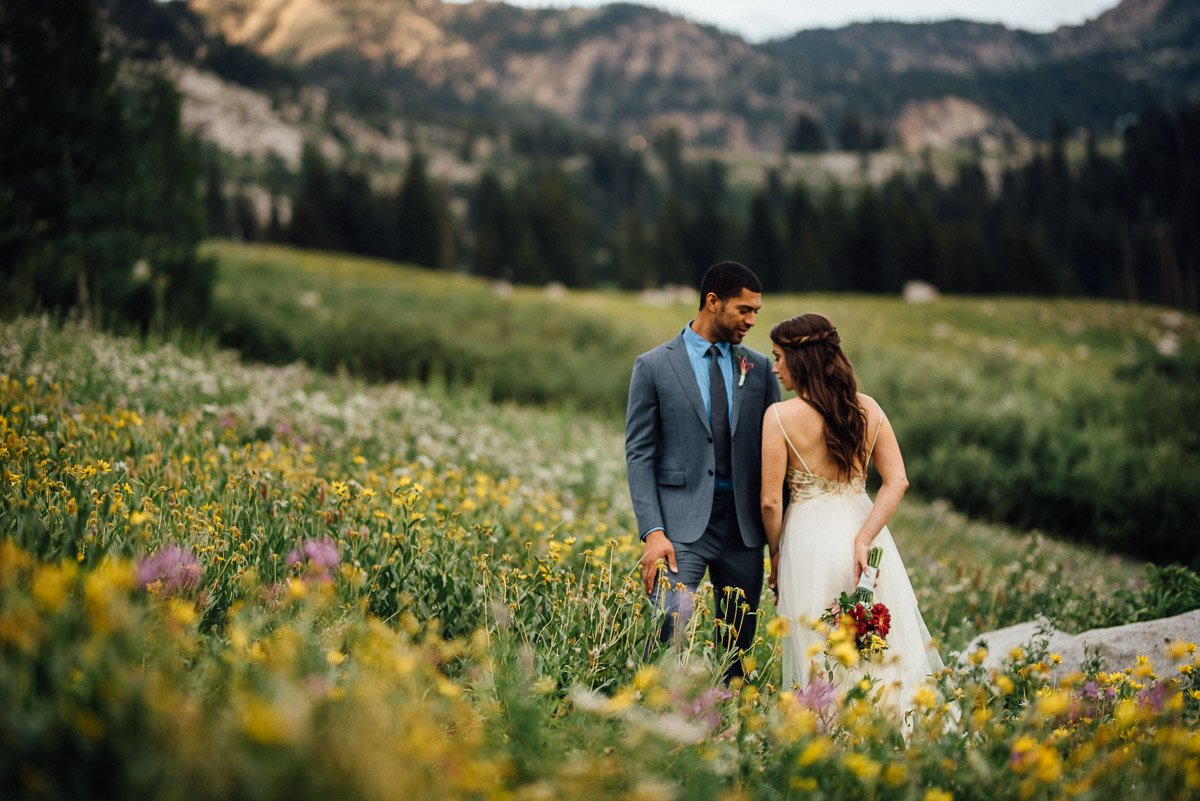 wildflowers-wedding Salt Lake City | Mountain Wedding Inspiration