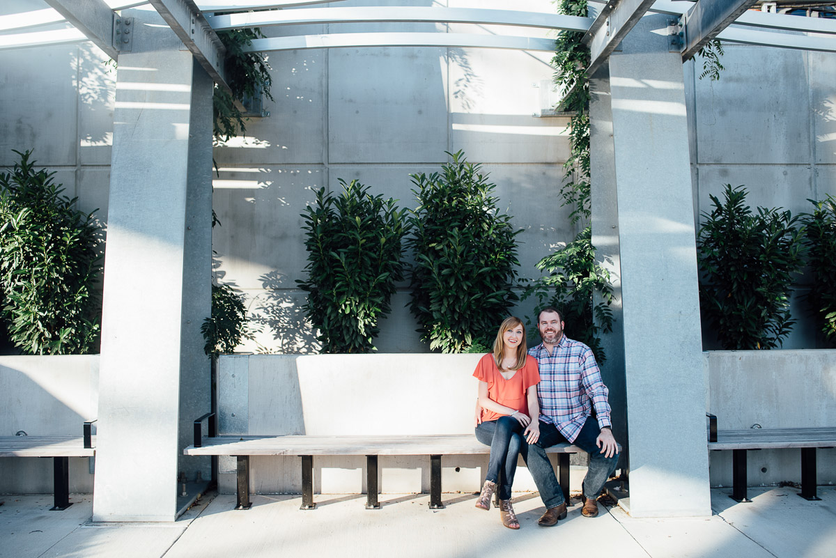 nashville-engagement-photographer Graystone Quarry and Downtown Nashville Engagement Session