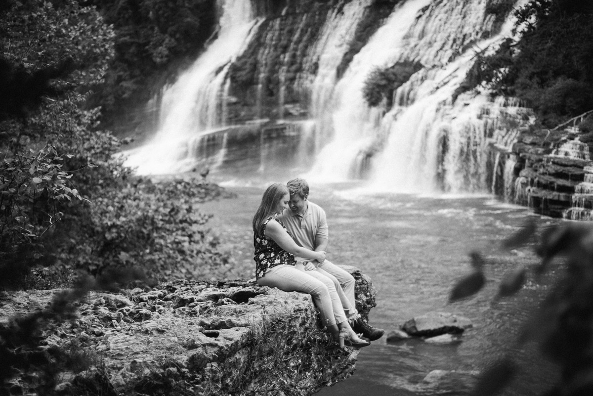 rock island state park engagement photos celladora