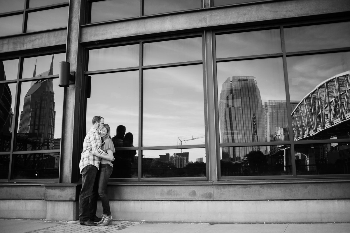 nashville-engagement-photography Graystone Quarry and Downtown Nashville Engagement Session