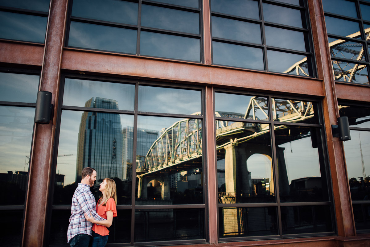 nashville-tn-engagement Graystone Quarry and Downtown Nashville Engagement Session