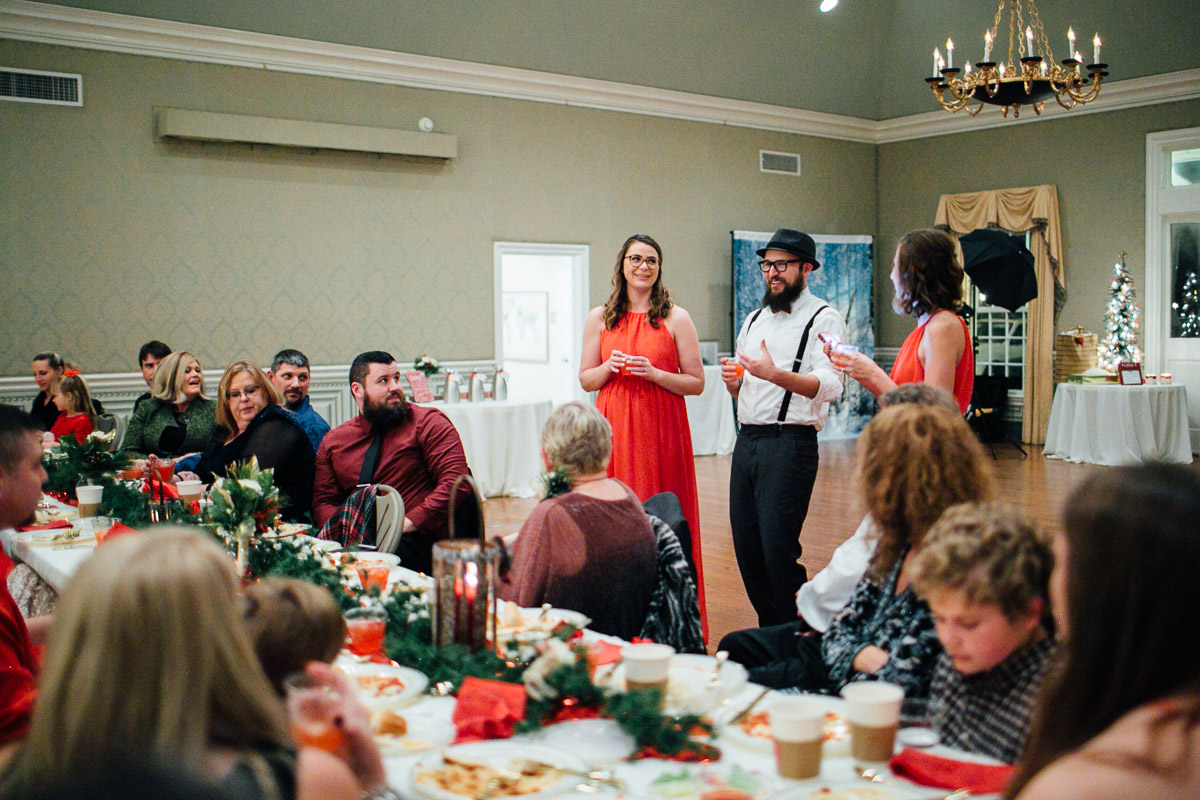 christmas-wedding-21-1 Cozy Christmas Wedding | Oaklands Mansion - Murfreesboro, TN