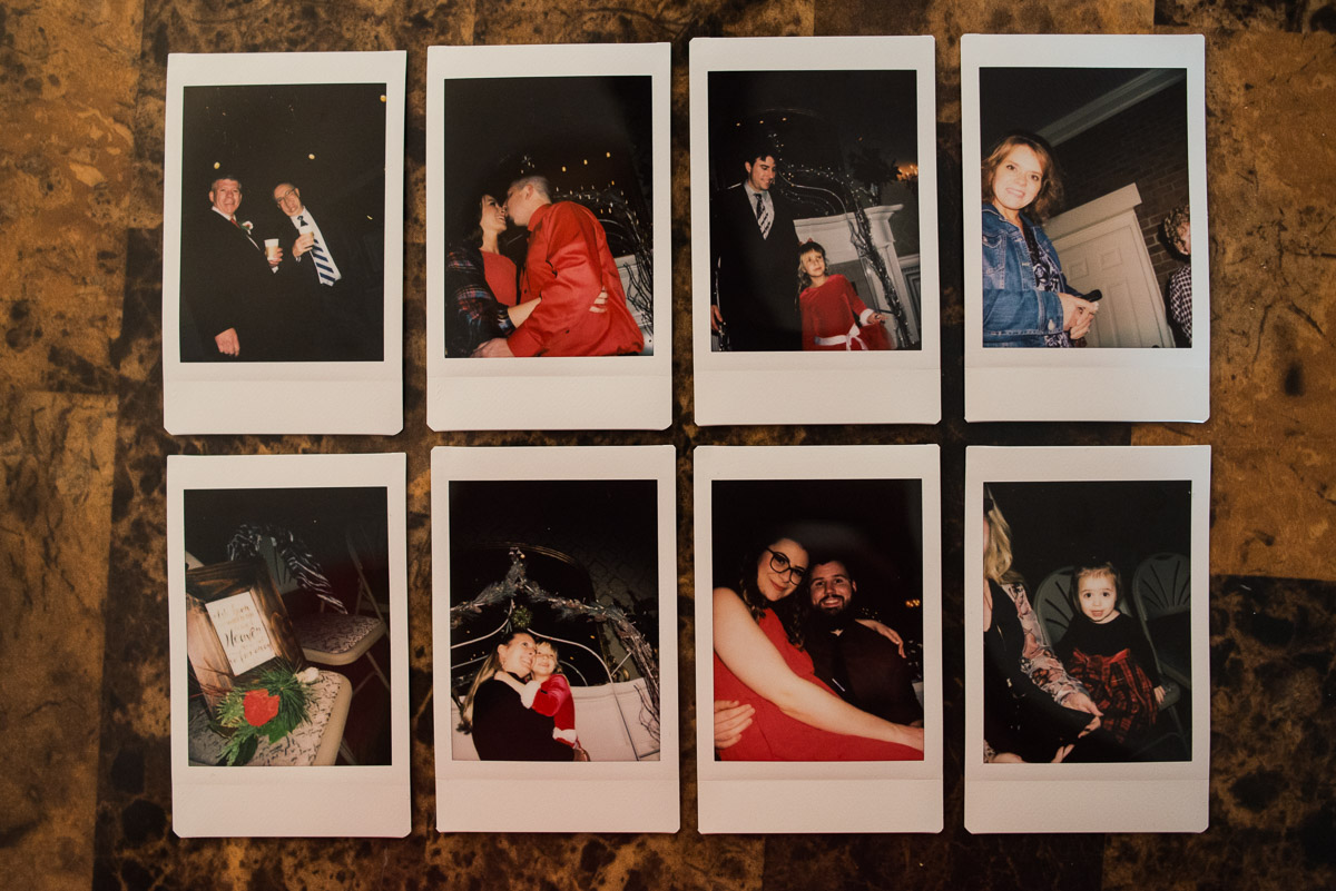 fuji-instax-1 Cozy Christmas Wedding | Oaklands Mansion - Murfreesboro, TN