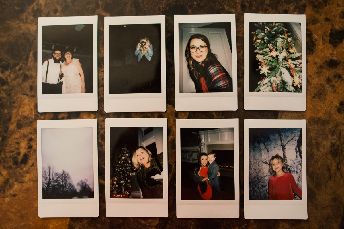 fuji-instax-2 Cozy Christmas Wedding | Oaklands Mansion - Murfreesboro, TN