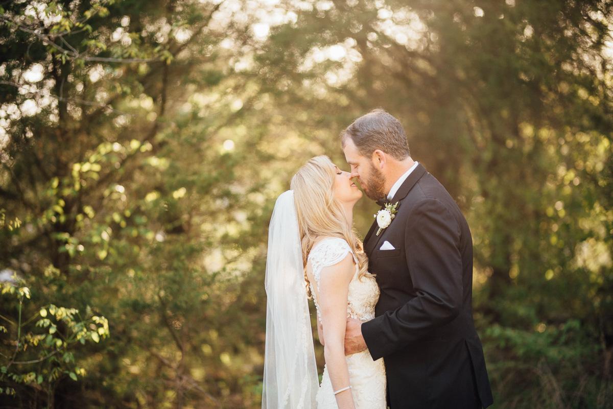 almost-kiss Graystone Quarry Wedding   Brad and Nicole