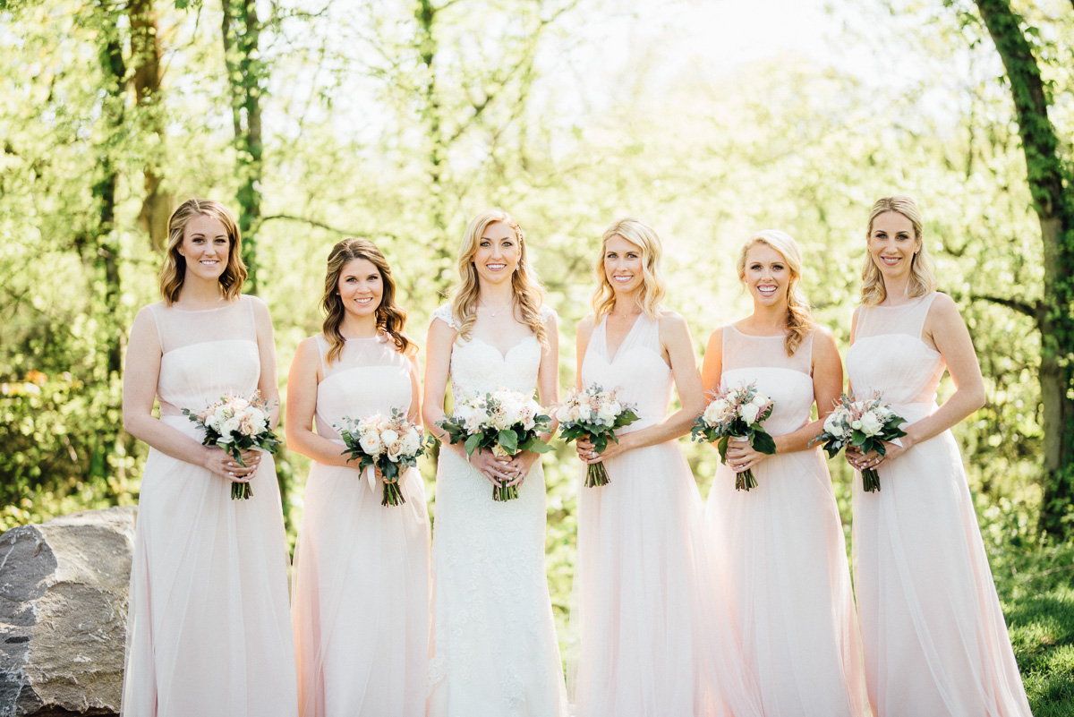 bella-bridesmaids-dresses Graystone Quarry Wedding | Brad and Nicole