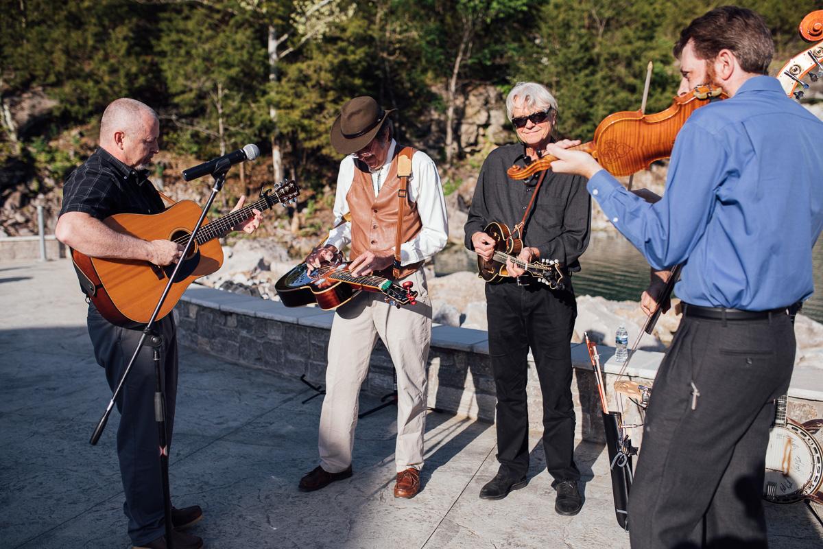 bluegrass-musicians Graystone Quarry Wedding   Brad and Nicole