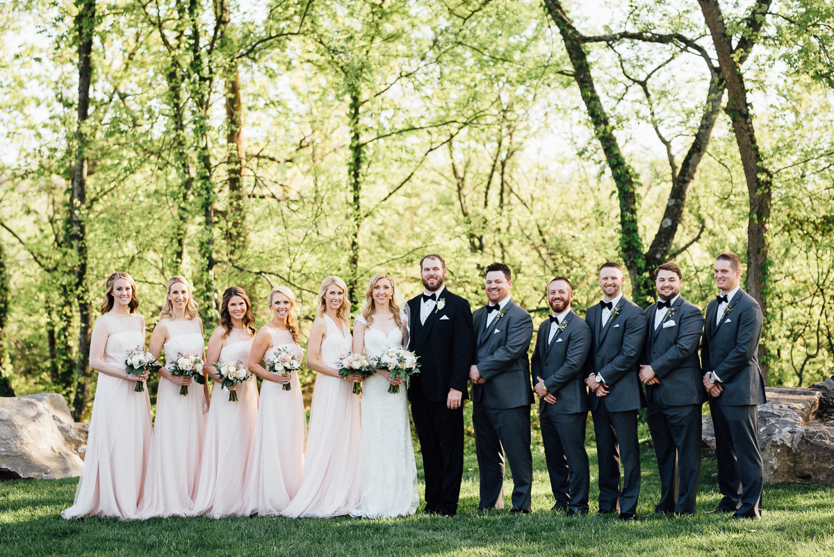 bridal-party Graystone Quarry Wedding | Brad and Nicole