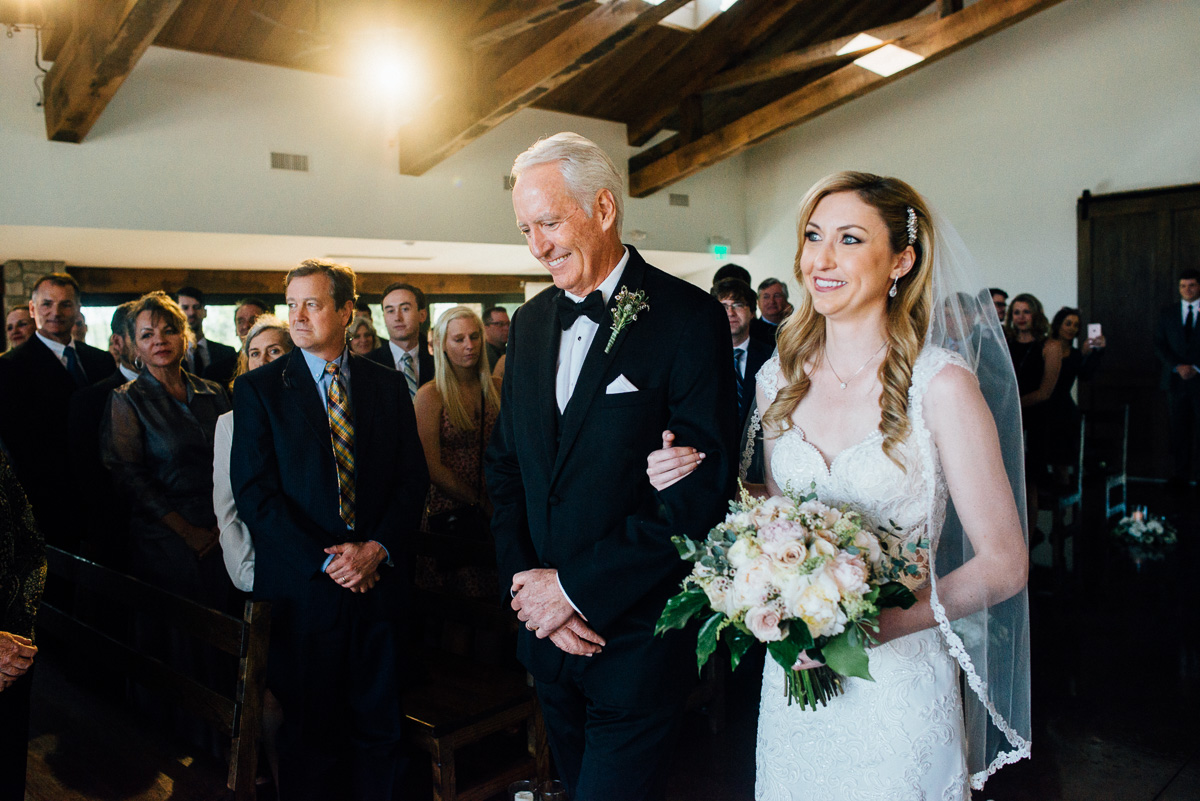 bride-father Graystone Quarry Wedding | Brad and Nicole
