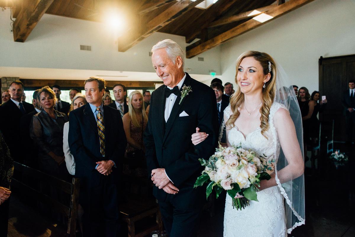 bride-father Graystone Quarry Wedding   Brad and Nicole