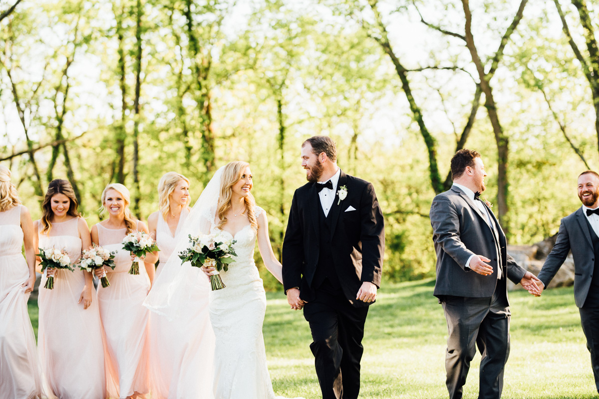 bride-groom-walking Graystone Quarry Wedding | Brad and Nicole