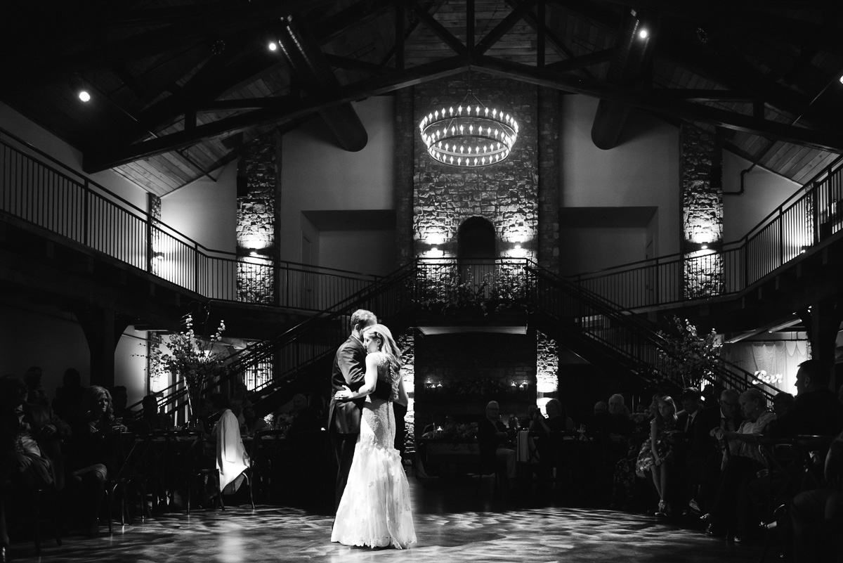 couple-dance Graystone Quarry Wedding   Brad and Nicole