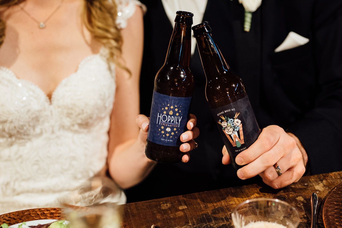 custom-wedding-beer-labels Graystone Quarry Wedding | Brad and Nicole