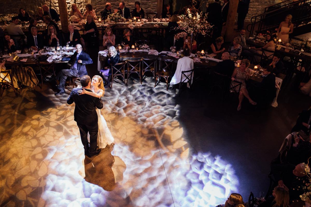first-dance Graystone Quarry Wedding   Brad and Nicole