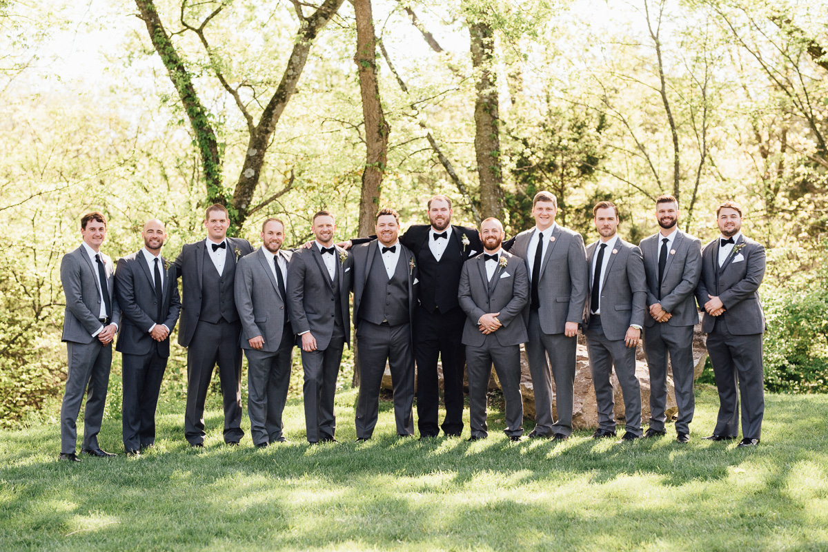 groom-groosmen-ushers Graystone Quarry Wedding | Brad and Nicole