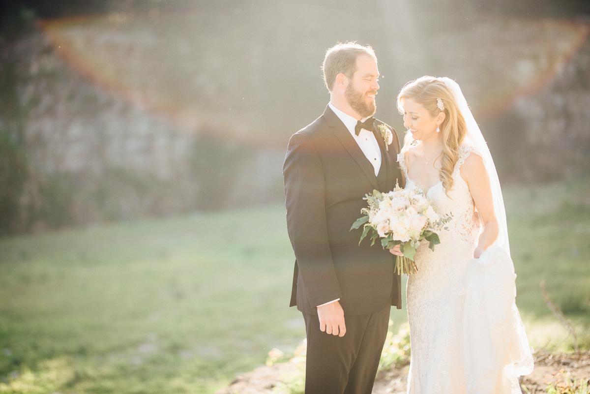 sun-flare Graystone Quarry Wedding   Brad and Nicole