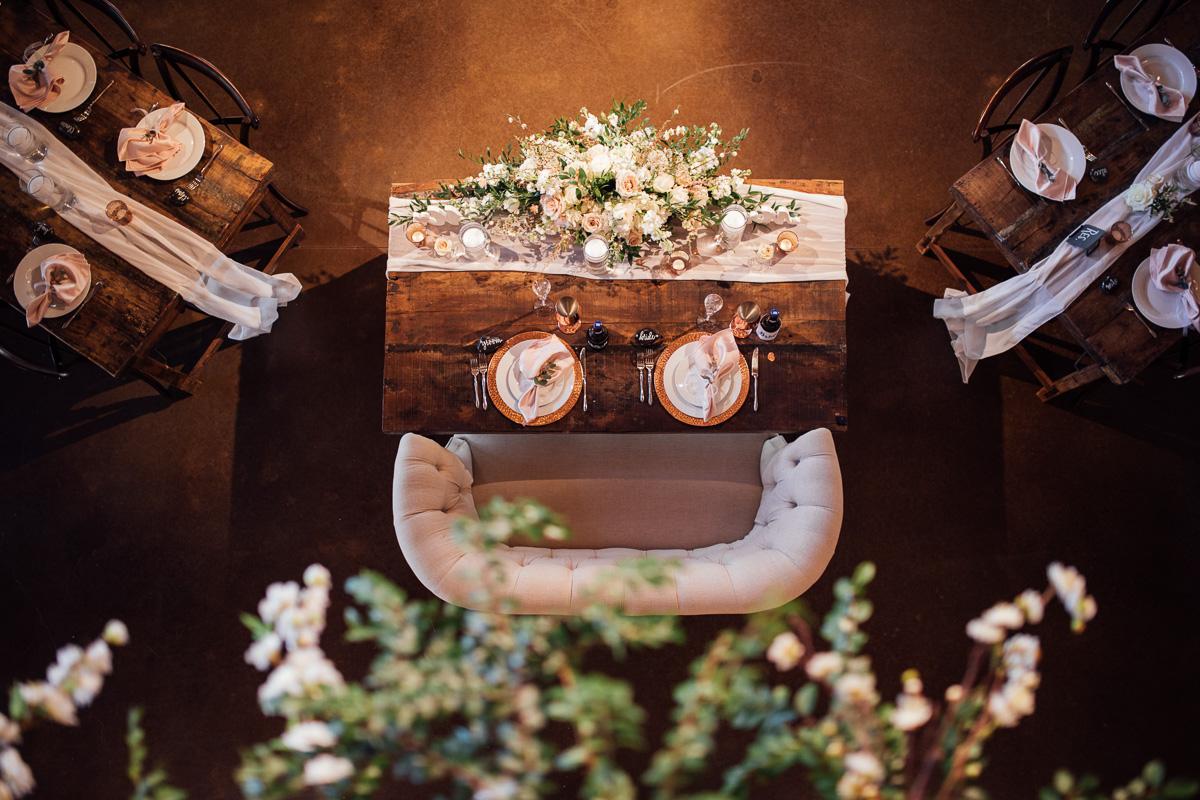 table-shot-wedding-details Graystone Quarry Wedding   Brad and Nicole