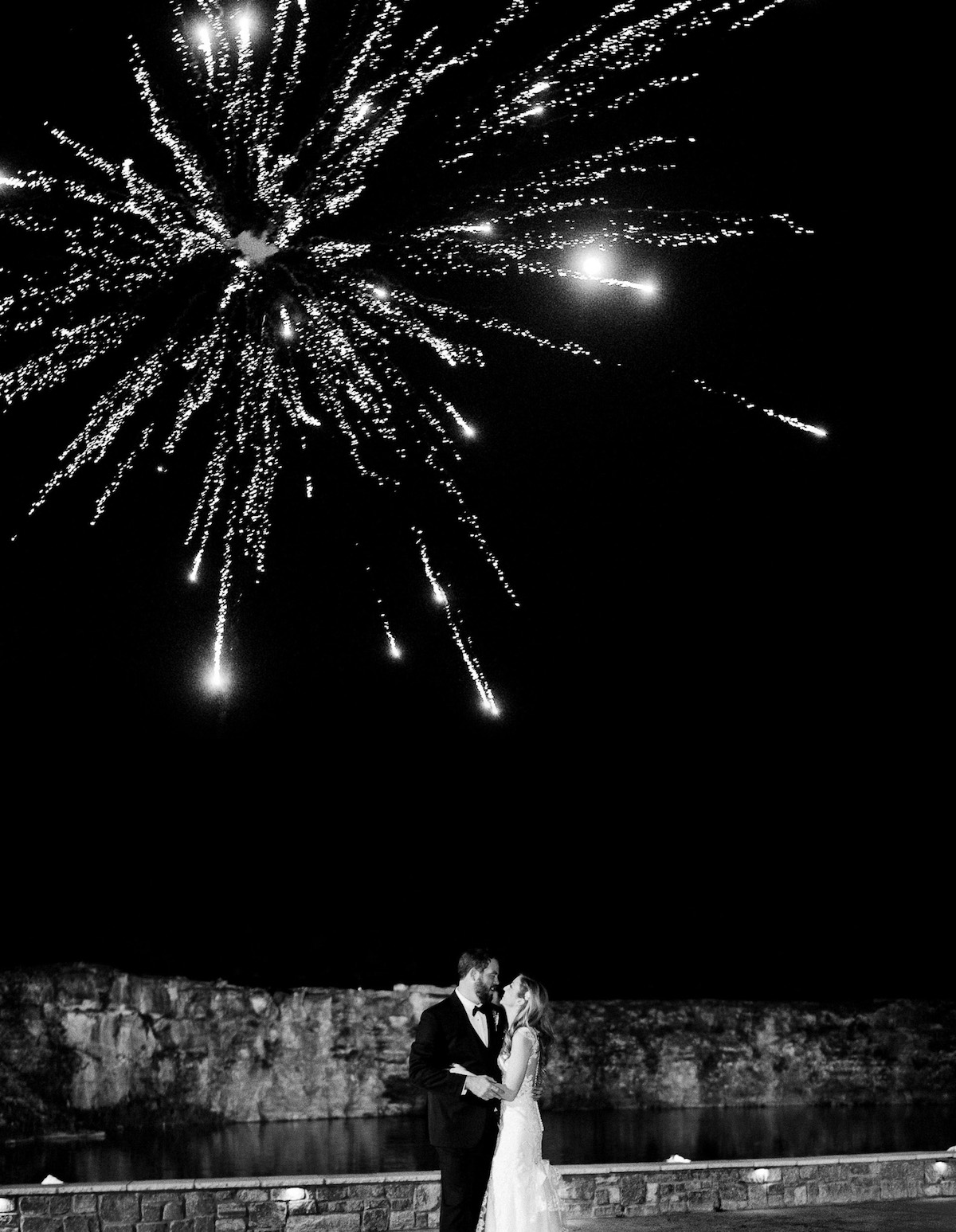 wedding-night-fireworks Graystone Quarry Wedding | Brad and Nicole