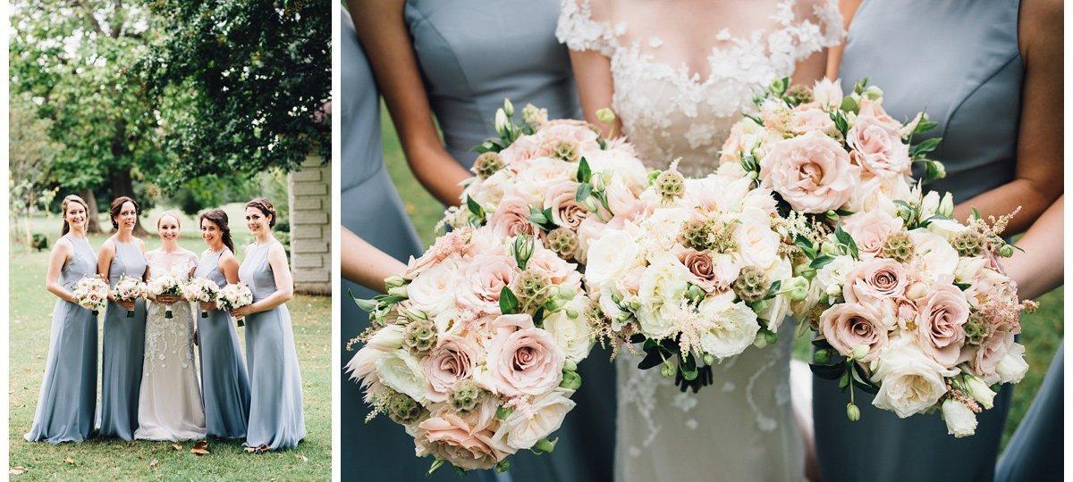 bride-bridesmaids-flowers-3 Clementine Hall   Nashville Wedding   Rachel and Bobby