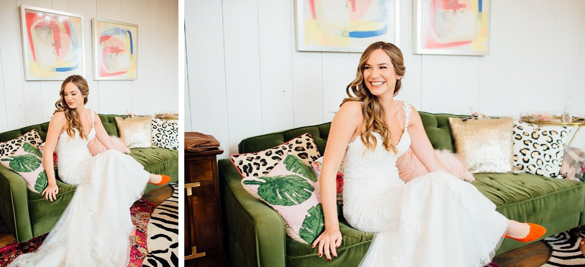 bride-on-couch Allenbrooke Farms | Spring Hill TN Wedding | Sam and Kaleb