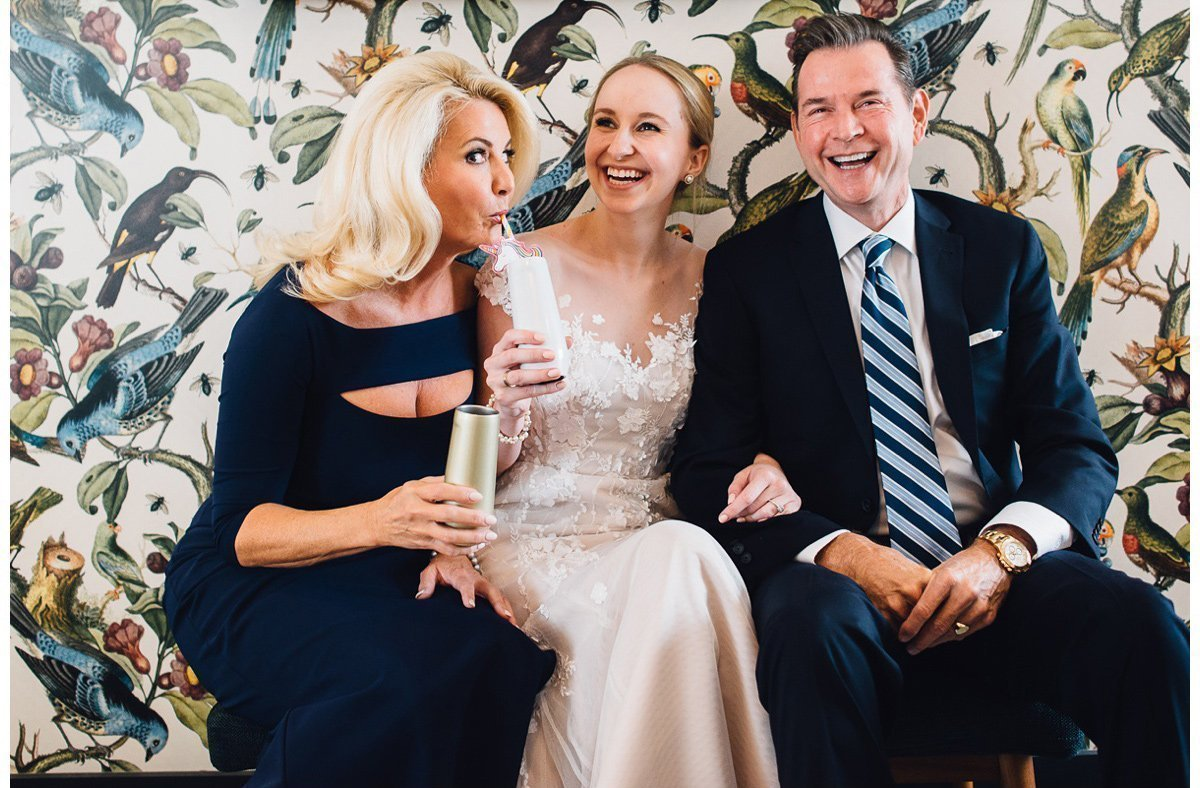 candid-moment-bride-with-parents-3 Clementine Hall   Nashville Wedding   Rachel and Bobby