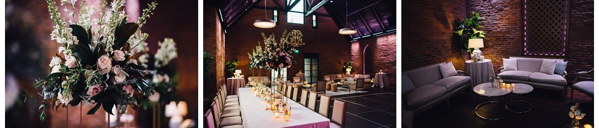 cozy-warm-wedding-reception-3 Clementine Hall | Nashville Wedding | Rachel and Bobby