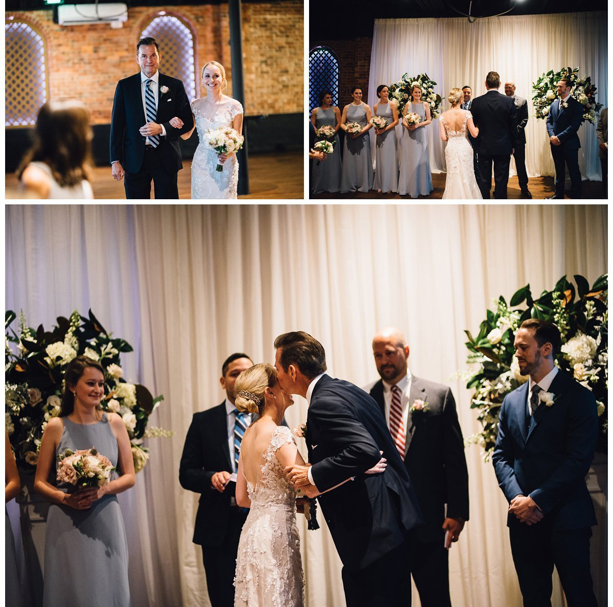father-walking-daughter-3 Clementine Hall   Nashville Wedding   Rachel and Bobby
