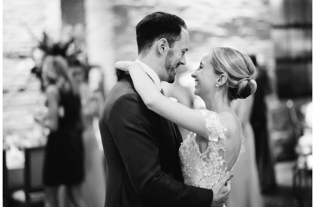 first-dance-bw-3 Clementine Hall | Nashville Wedding | Rachel and Bobby