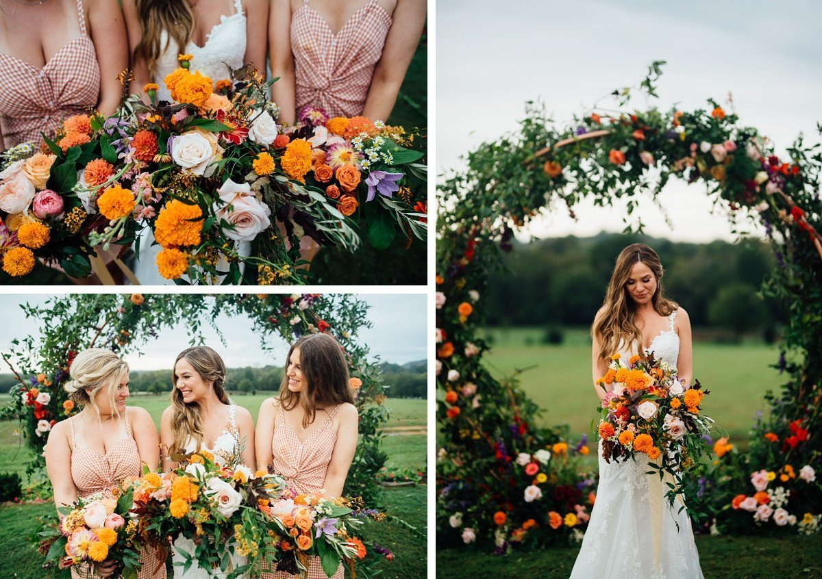 foxglove-andheather-wedding-flowers Allenbrooke Farms | Spring Hill TN Wedding | Sam and Kaleb
