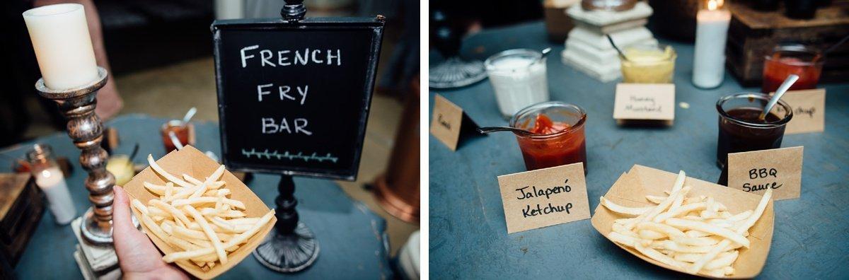 french-fry-bar Allenbrooke Farms | Spring Hill TN Wedding | Sam and Kaleb