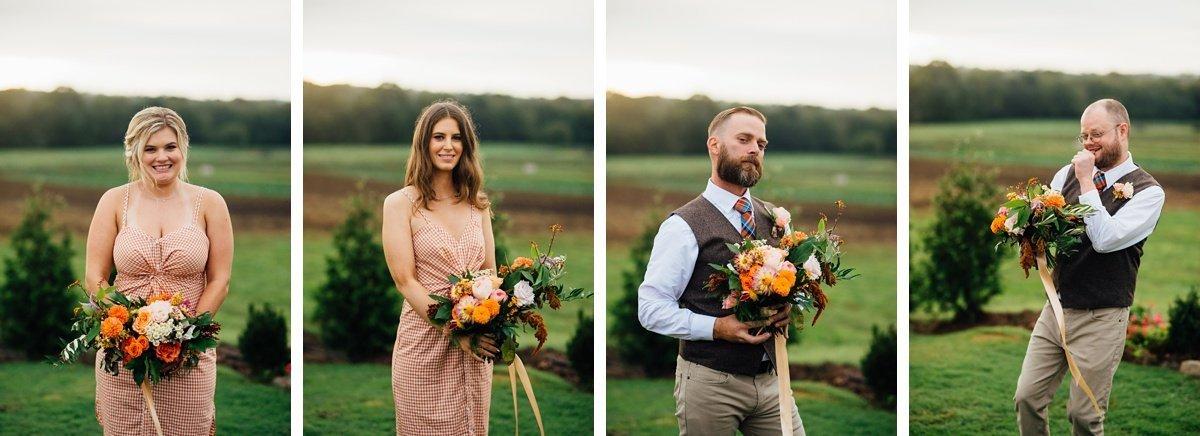 fun-wedding-party Allenbrooke Farms | Spring Hill TN Wedding | Sam and Kaleb