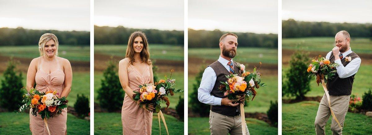 fun-wedding-party Allenbrooke Farms | Spring Hill TN Wedding | Sam and Kaleb