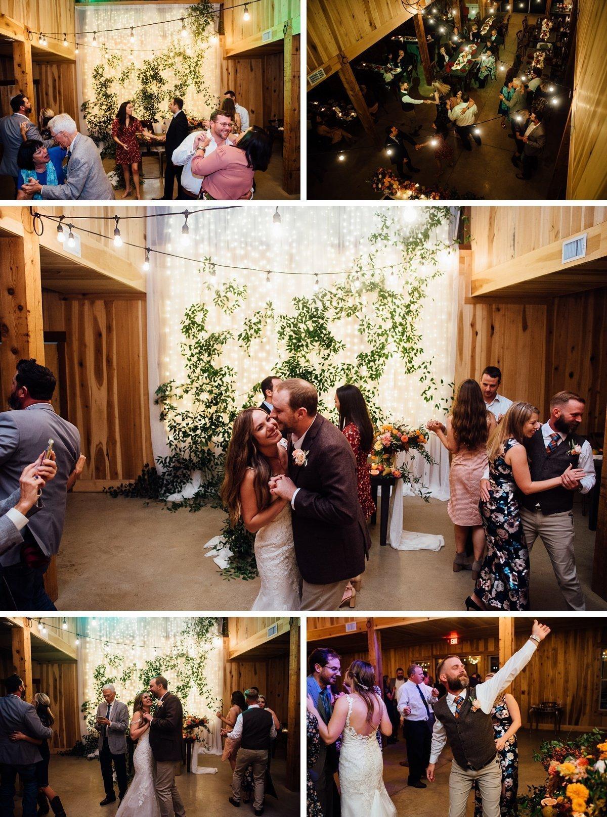 fun-wedding-reception-2 Allenbrooke Farms | Spring Hill TN Wedding | Sam and Kaleb