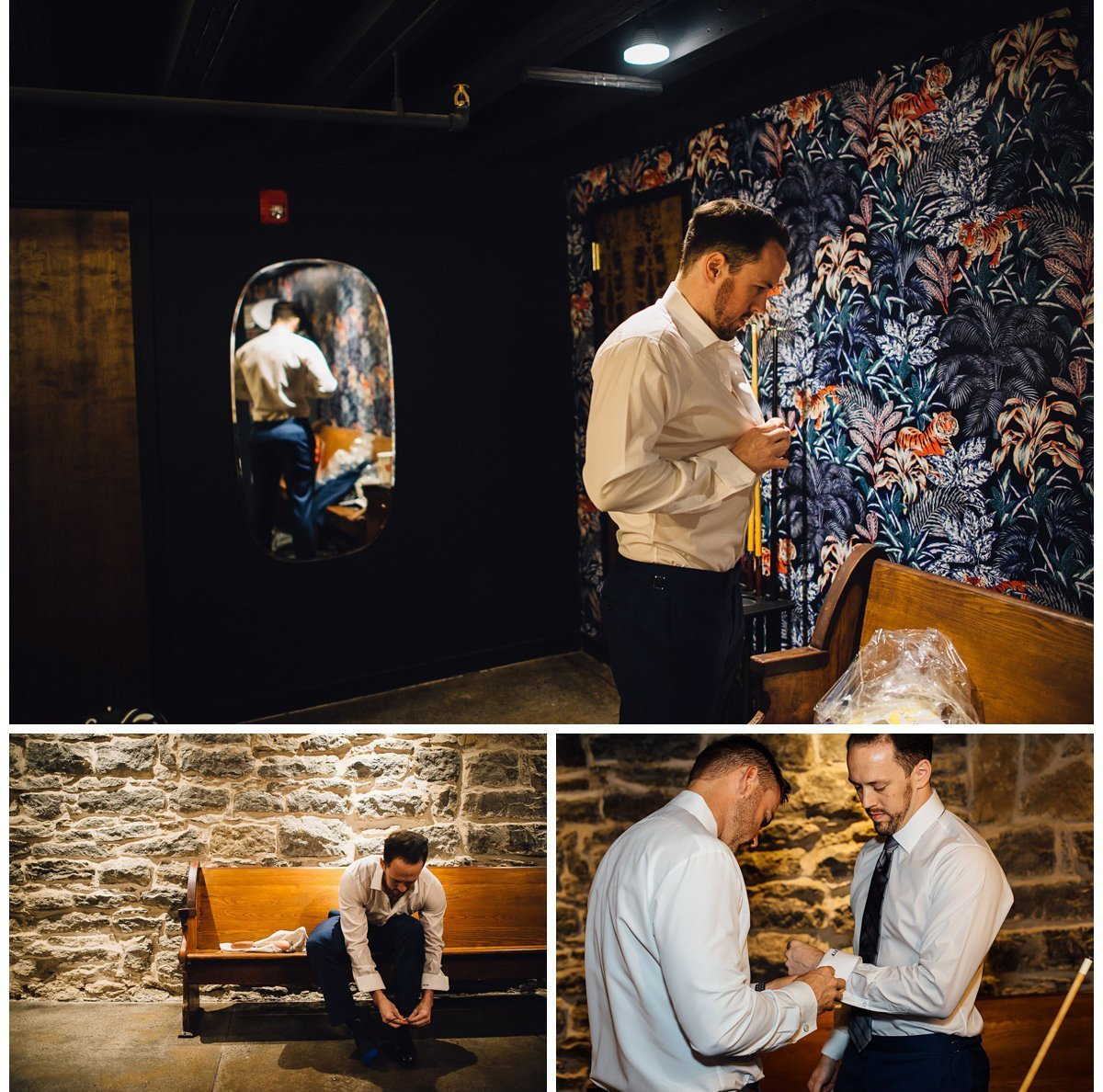 groom-getting-dressed-details-3 Clementine Hall | Nashville Wedding | Rachel and Bobby