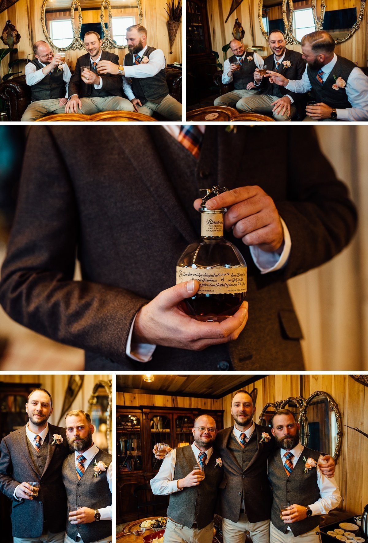 groom-whiskey Allenbrooke Farms | Spring Hill TN Wedding | Sam and Kaleb
