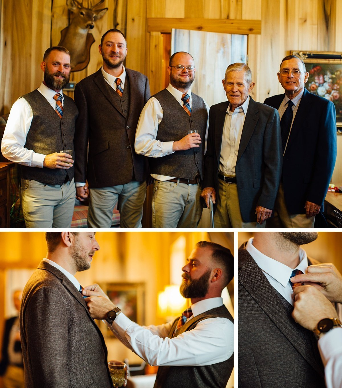 groomsmen-getting-ready Allenbrooke Farms | Spring Hill TN Wedding | Sam and Kaleb