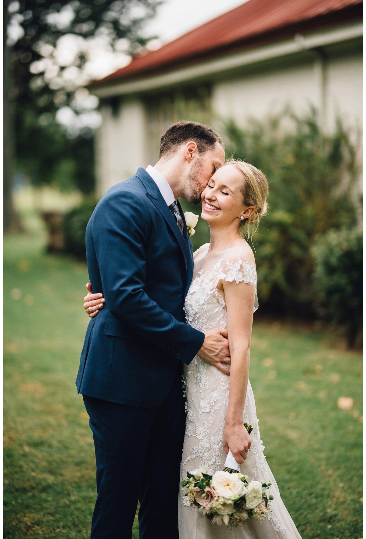 kiss-on-cheek-3 Clementine Hall   Nashville Wedding   Rachel and Bobby