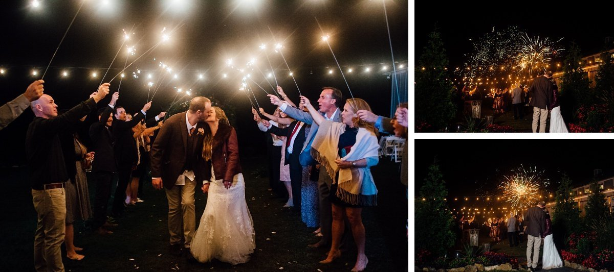 sparkler-fireworks-wedding-exit Allenbrooke Farms | Spring Hill TN Wedding | Sam and Kaleb