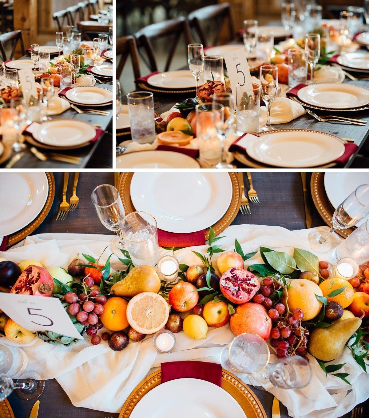 table-decorations-wedding Allenbrooke Farms | Spring Hill TN Wedding | Sam and Kaleb