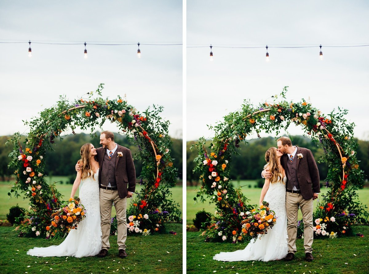 wedding-centerpiece Allenbrooke Farms | Spring Hill TN Wedding | Sam and Kaleb