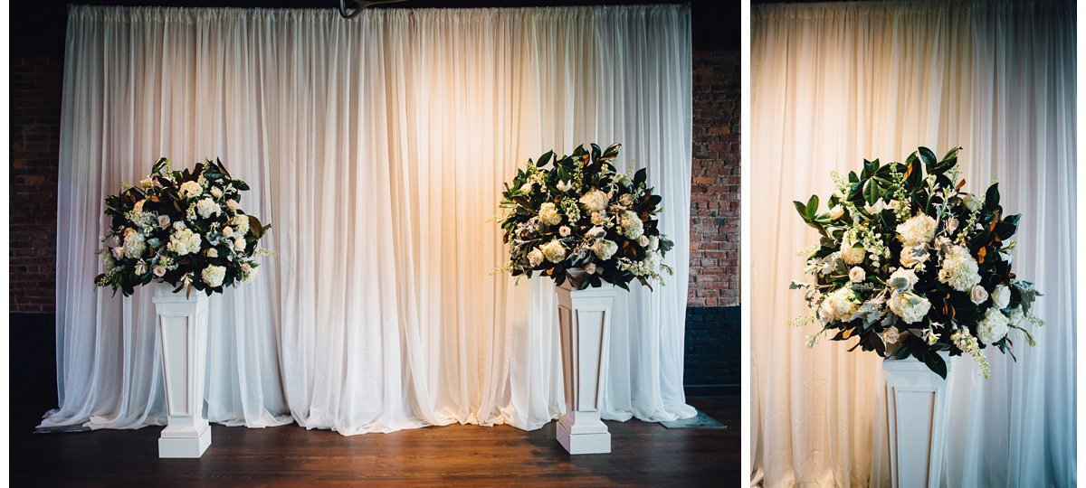 wedding-flowers-decorations-3 Clementine Hall | Nashville Wedding | Rachel and Bobby