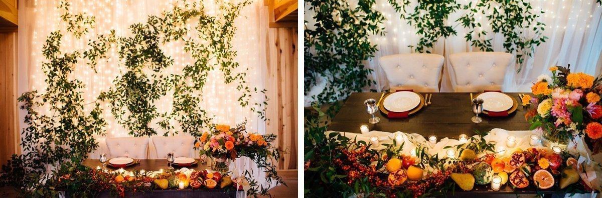 wedding-head-table Allenbrooke Farms | Spring Hill TN Wedding | Sam and Kaleb